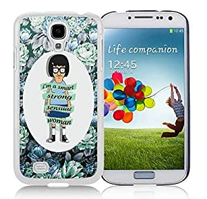 Special Custom Samsung Galaxy S4 Case Bob's Burgers 10 White Personalized Picture Samsung Galaxy S4 i9500 Phone Case