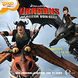Freunde in der Not (Dragons - Die Reiter von Berk 8) Hörspiel