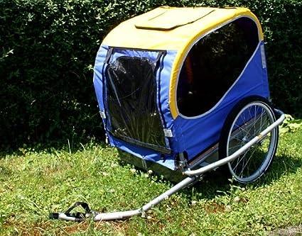Blue Bird Hundeanhanger Fahrradanhanger Alu Mit Standard Kupplung Amazon De Sport Freizeit
