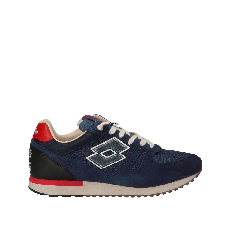 Lotto Leggenda T4587 Zapatos Hombre 45 EU|Azul-rojo