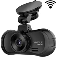 Vantrue X3 WiFi Dash Cam, Super HD 2.5K 1440P/30fps 1080P/60fps Dashboard Camera, 170° Wide Angle Car Camera with Amba A12 Chip, Super HDR Night Vision, Parking Mode, Motion Detection, Loop Recording