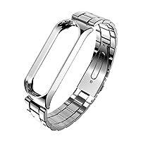 Saihui cinghia per Xiaomi Mi Band 3di lusso in acciaio INOX orologio Band Wristband per Xiaomi Mi 3
