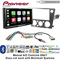 Volunteer Audio Pioneer AVH-W4400NEX Double Din Radio Install Kit with Wireless Apple CarPlay, Android Auto, Bluetooth Fits 2005-2009 Subaru Legacy, Outback