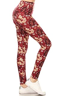 258733ec3e1fc6 Leggings Depot Yoga Waist REG/Plus Women's Buttery Soft Workout Gym Leggings