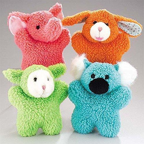 Zanies Cuddly Berber Baby Dog Toy (Bunny, Elephant, Koala, and Lamb) by Zanies ()