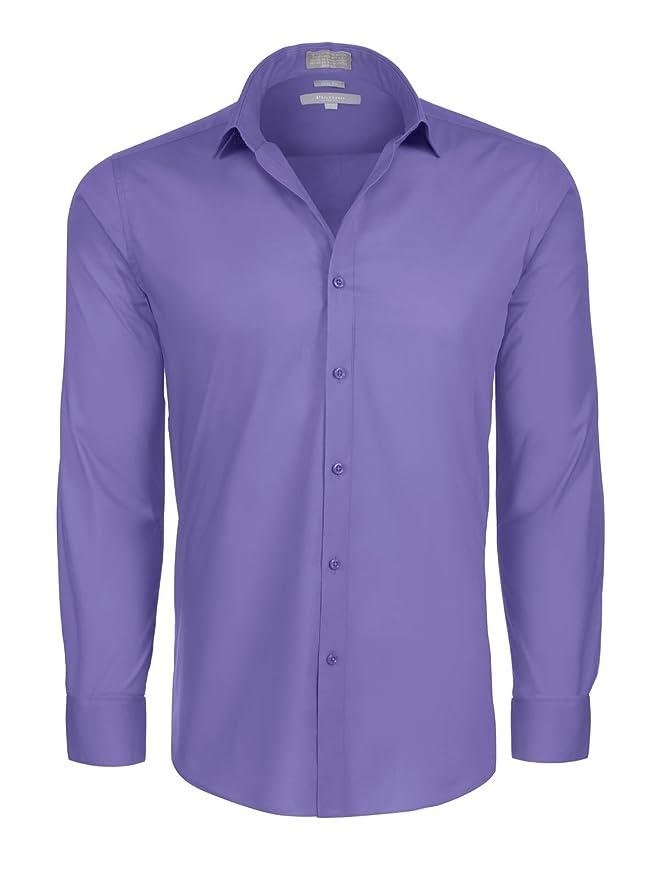 4f4d4b5be7c7 Platino de Marquis Marquis Men's Slim Fit Dress Shirt at Amazon Men's  Clothing store: