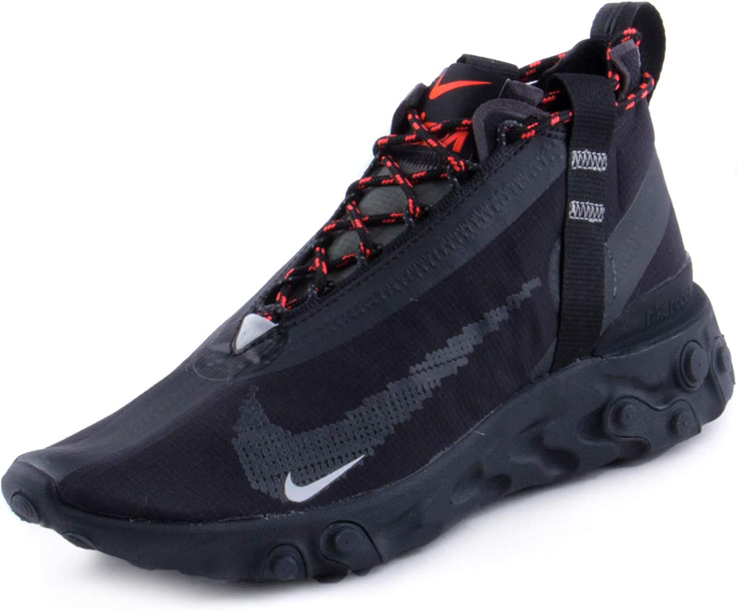 lista Pakistán modelo  Amazon.com | Nike Mens React Runner Mid WR ISPA Black/White-Anthracite  Synthetic | Road Running