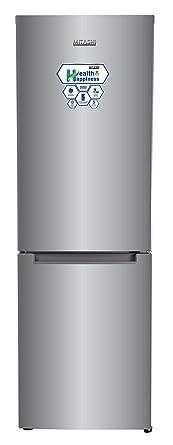 Mitashi 345 L 2 Star Frost-Free Double-Door Refrigerator (MiRFBMF2S345v20, Silver)
