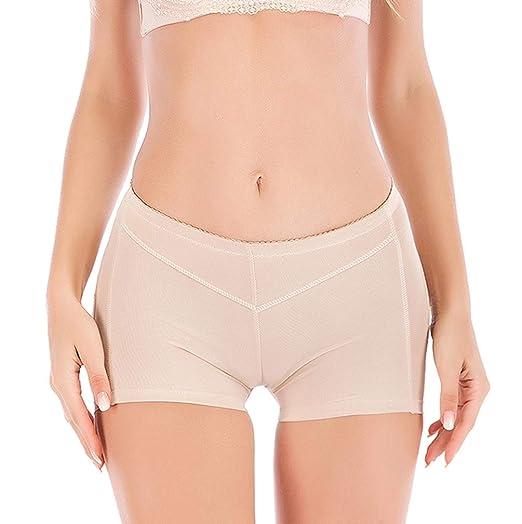 0c2ba03a825 SAYFUT Hot Womens Butt Lifter Boy Shorts Shapewear Butt Enhancer Control Panties  Beige