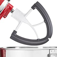 Gvode Flex Edge Beater Compatible with KitchenAid 4.5-5 Quart Tilt-Head Stand Mixer-Coated Metal Flat Beater Blade with Flex Edge Bowl Scraper
