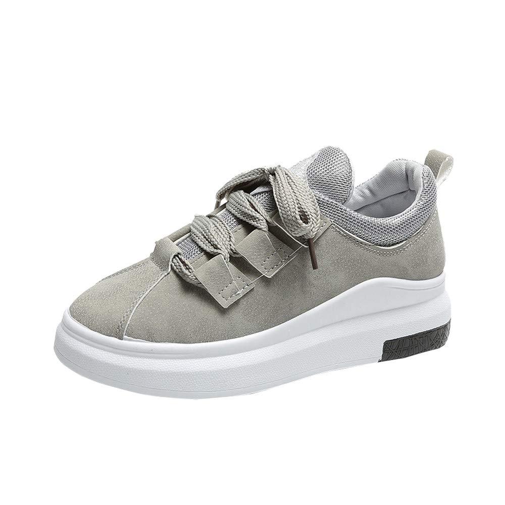 3baa77b8939bd GiveKoiu Scarpe da Ginnastica Donna Interna Alte Sneakers Scarpe con Zeppa  Scarpe Sportive a Tacco Inclinato alla Moda  Amazon.it  Abbigliamento