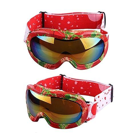 Yuany Gafas de Sol Gafas de Nieve para niños Gafas de esquí ...
