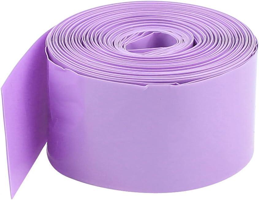 Sourcingmap/® 29.5mm PVC Gaine thermor/étractable Wrap Wire 10m 33ft pour 18650 18500 Batterie