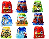 Cartoon Printed Haversack Bag For Kids Birthday Party Return Gift(Pack of 12)