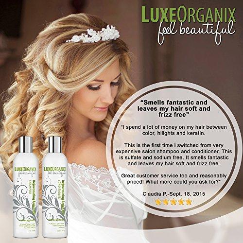 Moroccan Argan Oil Shampoo And Conditioner Sls Sulfate