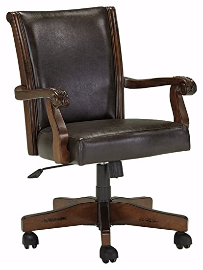 Charmant Ashley Furniture Signature Design   Alymere Home Office Swivel Desk Chair   Vintage  Style   Brown