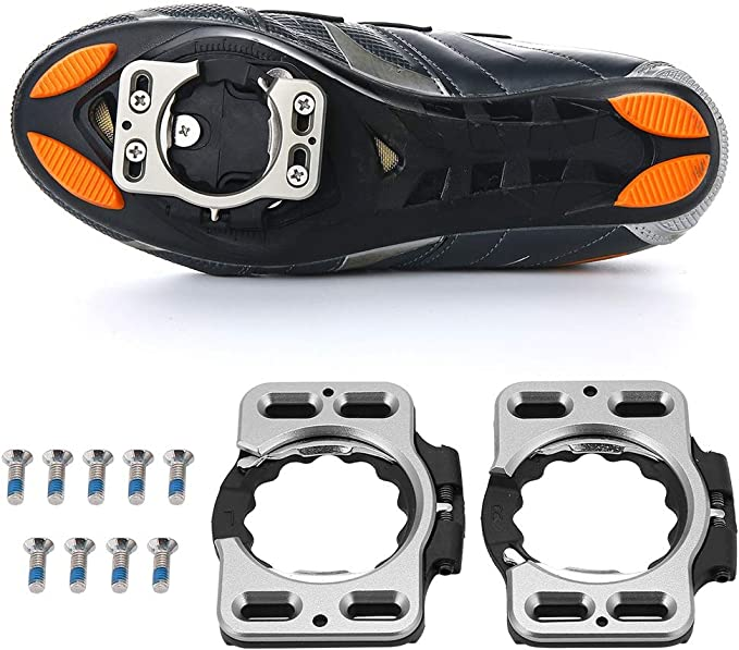 1Pair Quick Release Cleat Bike Pedal Cleats for Speedplay Zero//Pave//Ultra//X1//X2
