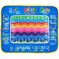 guoYL26sx Baby Toys Creative Reusable Magic Water Doodle Drawing Graffiti Mat Educational Kids Toy