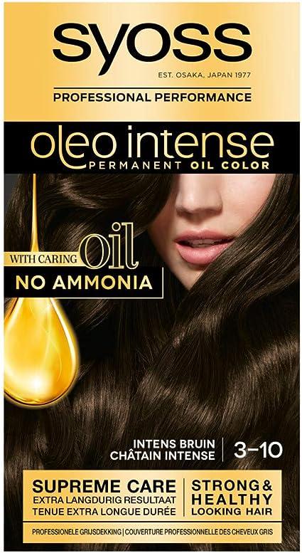 Syoss Color Oleo Intense 2-10 - Tinte para el cabello: Amazon ...