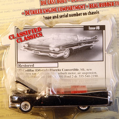 Racing Champions Classified Classics - Restored 1959 Cadi...