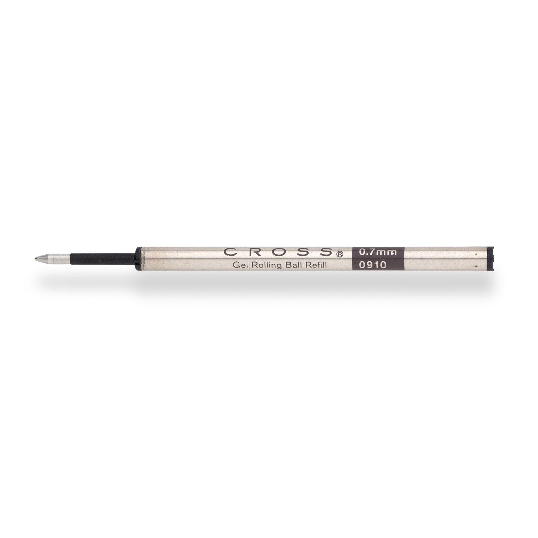 2 Pk Cross Slim Gel Black Rolling Ball Refills 8910-1 NEW
