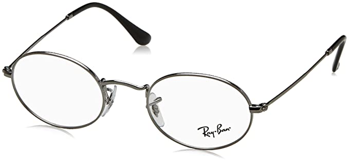 Ray-Ban Rayban Unisex-Erwachsene Brillengestelle 0RX 3547V 2502 48, Grau  (Gunmetal c9fd1b0d69