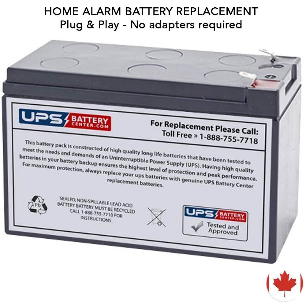 12V 7.2Ah Compatible Battery with F1 Terminals for Casil CA1270 by UPSBatteryCenter® UPS Battery Center 12V-CA1270-batt