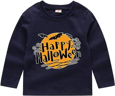 Berimaterry Halloween Camisetas de Manga Larga Bebé, Ropa Interior ...
