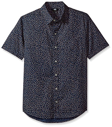 PAIGE Men's Becker Shirt In Blue Colt, Blue Cobalt, M by PAIGE