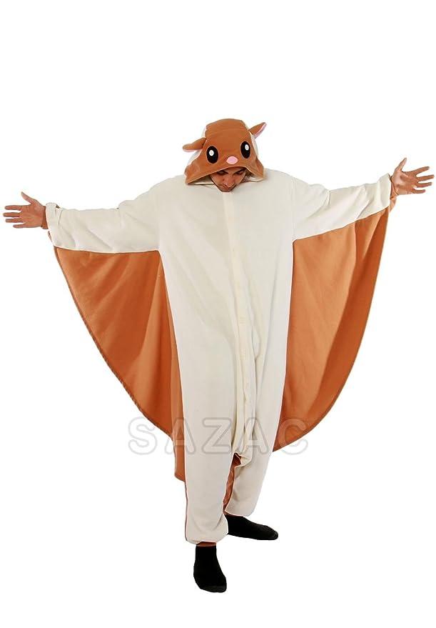 sc 1 st  Amazon.com & Amazon.com: SAZAC Flying Squirrel Kigurumi (Adults XL): Clothing