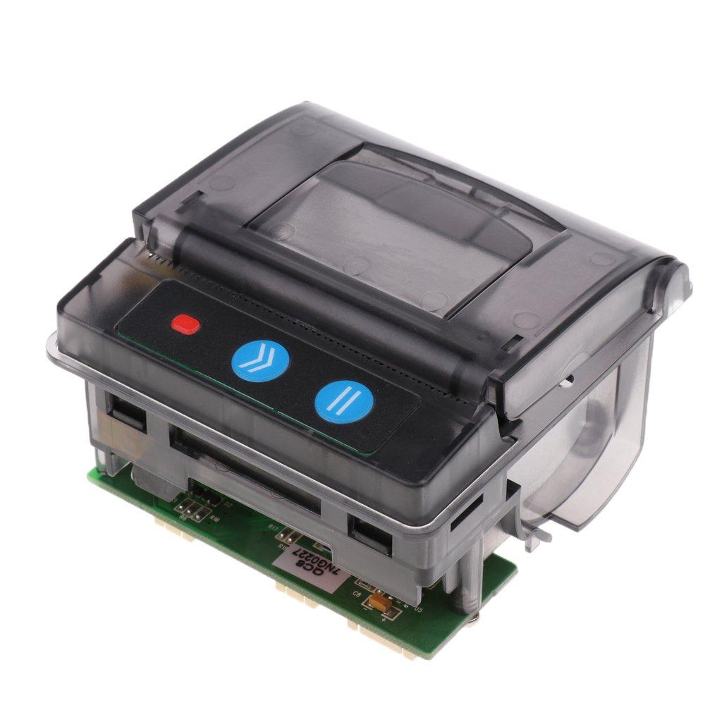 B Blesiya Portabile 58mm 701 Micro Fattura Stampanti Termico USB + Serial TTL/RS232 per iOS Android