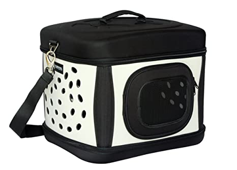 Box de transporte Bolso de transporte Bolso para Perros & Gatos Plegable Negro/