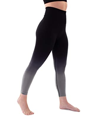 dd4d82760c166 High Waist Tummy Control Compression Seamless Ombre Leggings Yoga - Plus  Too at Amazon Women's Clothing store: