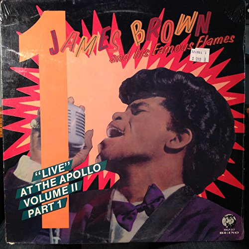 James Brown Live At The Apollo Volume 2 Part 1 vinyl record