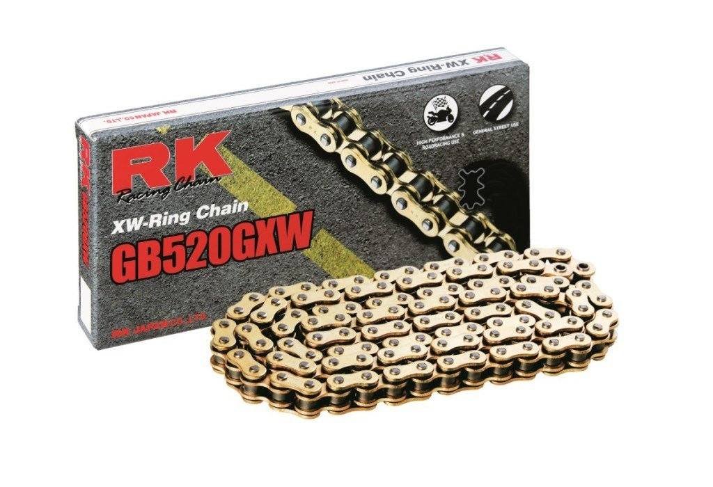 Chain transmission gold RK GB520GXW