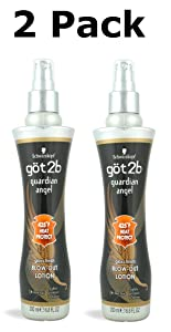 Got2b Guardian Angel Blow Out Lotion with Gloss Finish, 6.8-Ounce (Pack of 2)