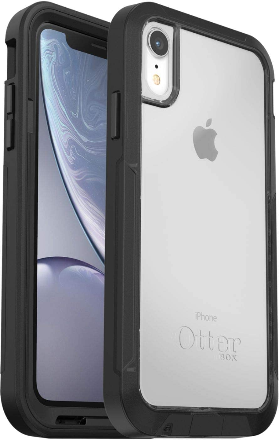 OtterBox Pursuit Series Case for iPhone XR (ONLY) Non-Retail Packaging - Black/Clear