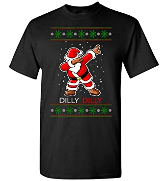 merry christmas dilly dily dabing dab t shirt at amazon men s