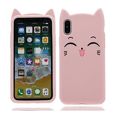Amazon.com: iPhone X funda, iPhone X Cover, [lindo dibujos ...