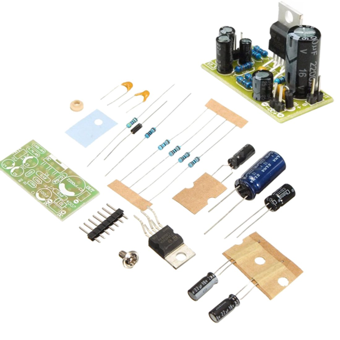 TOOGOO TDA2030A Audio Power Amplifier Board Module Mono Stereo Amp Subwoofer DIY Kits