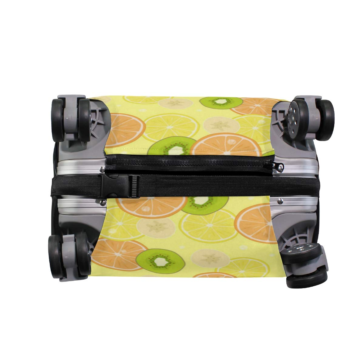 Banana Leaf Lnyard Yellow Traveler Lightweight Rotating Luggage Protector Case Can Carry With You Can Expand Travel Bag Trolley Rolling Luggage Protector Case