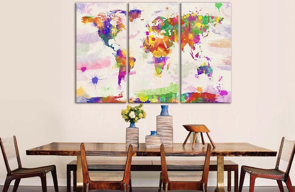 Dipinti Per Soggiorno : Dipinto per soggiorno paesaggio astratto per soggiorno