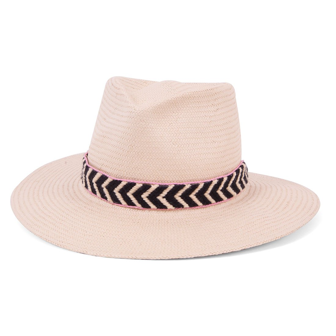 ale by Alessandra Women's Cartagena Fine Panama Sunhat Packable and Adjustable, Natural, One Size