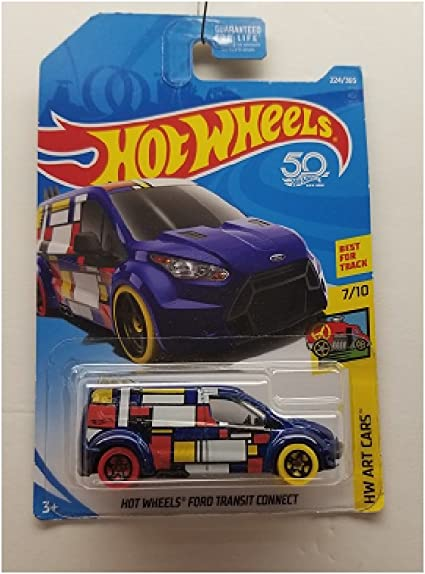 Hot wheels treasure hunt ford transit connect 2016 cp28
