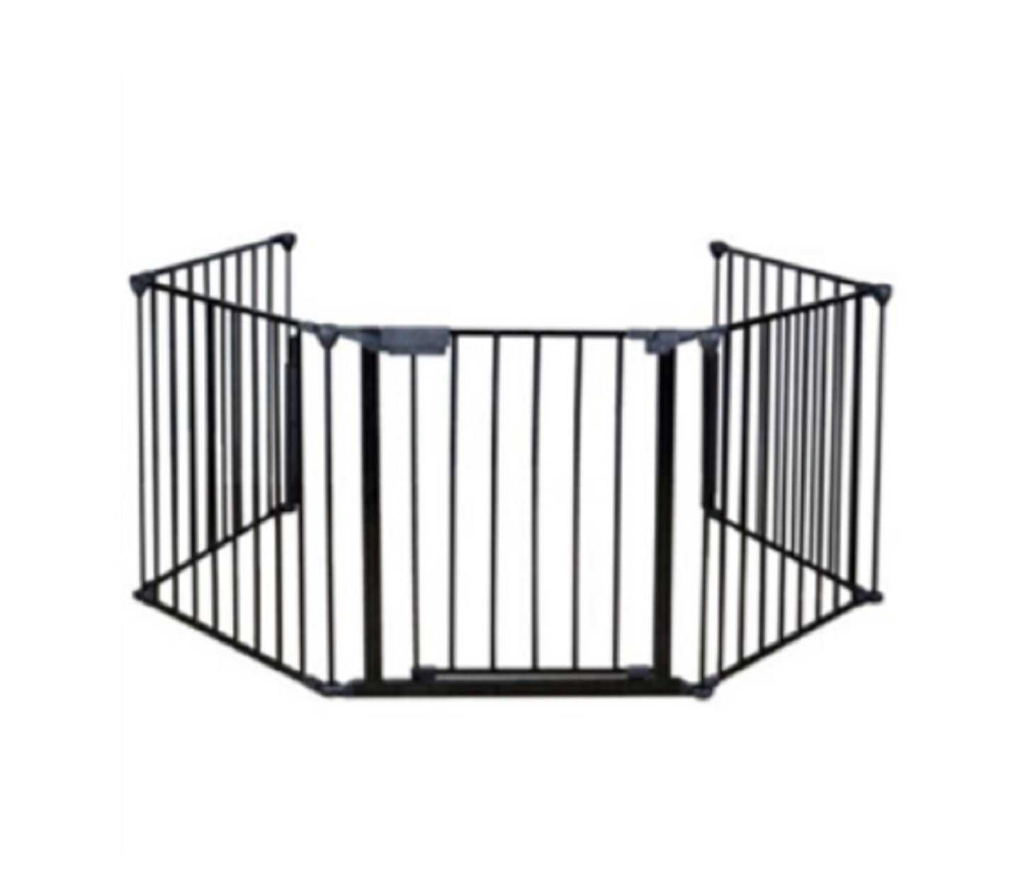 USA Premium Store Baby Safety Fence Hearth Gate BBQ Metal Fire Gate Fireplace Pet Dog Cat Fence