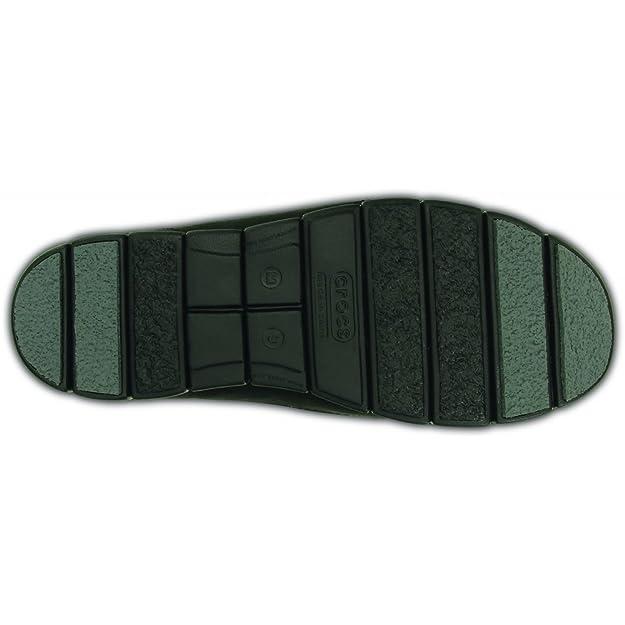 Crocs - Mocasines de Piel para hombre Negro negro: Amazon.es: Zapatos y complementos