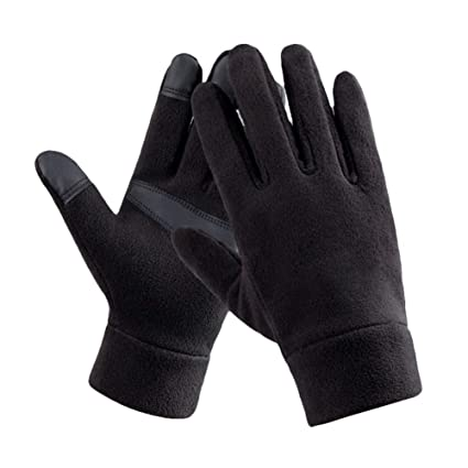 Ski Snowboard Full Finger Windproof Cycling Bicycle Gloves Winter Warm Fleece