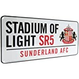 Gift Ideas - Official Sunderland AFC Metal Street Sign - A Great Present For Football Fans
