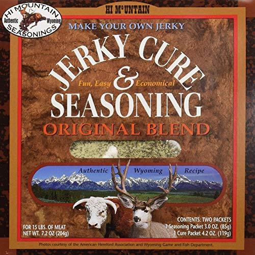 (Hi Mountain Jerky Seasoning – Original Blend – Make Your Own Jerky – 7.2)