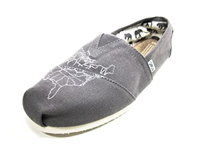 dbefe2e9741 TOMS Mens Classics Grey Size  10.5 D(M) US  Amazon.co.uk  Shoes   Bags